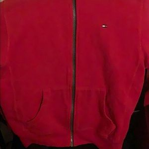 Red tommy hoodie